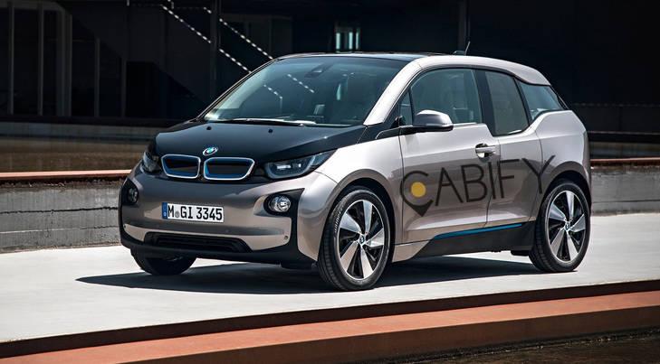 Pide tu Cabify y viajarás en un BMW i3