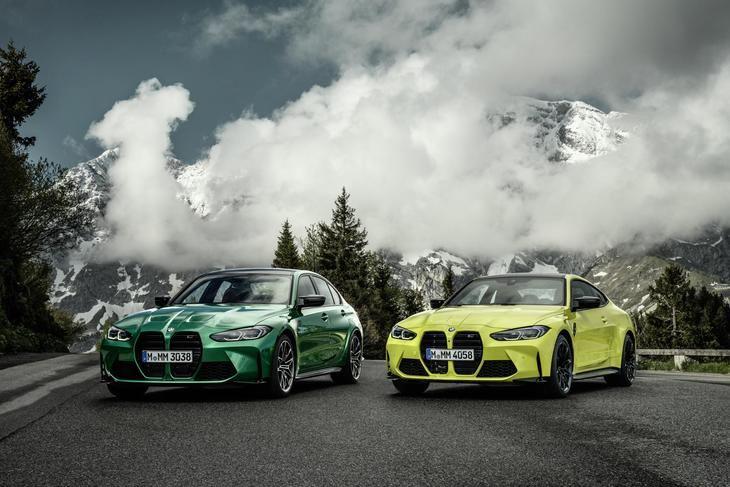 Los nuevos BMW M3 Competition y BMW M4 Competition Coupé