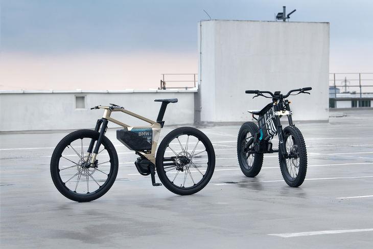 BMW Motorrad Vision AMBY, entre una bicicleta y una moto