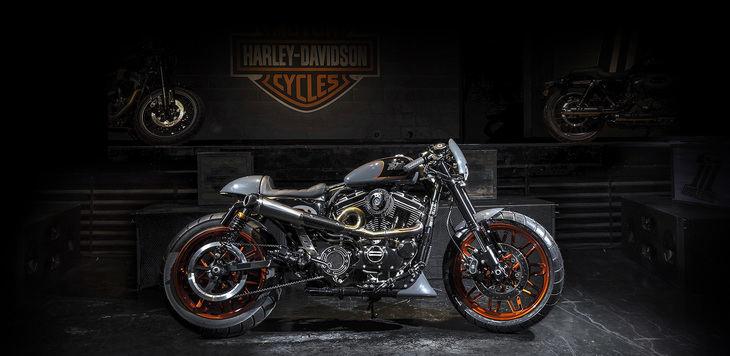 Harley-Davidson muestra las motos que compiten en la Battle of the Kings IV