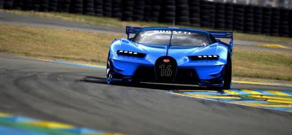 El increíble Bugatti Vision Gran Turismo