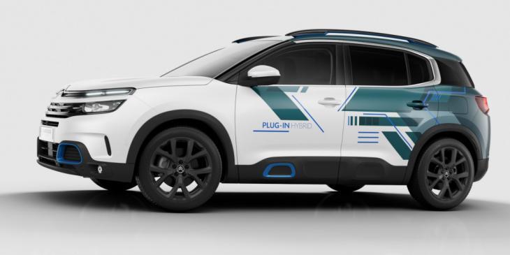 Citroen revela el 'C5 Aircross' en versión Híbrida recargable, PHEV