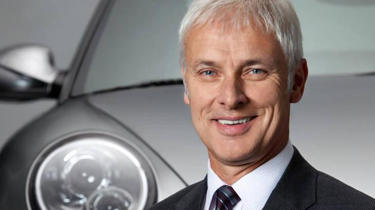 Matthias Müller será el nuevo Presidente de Volkswagen