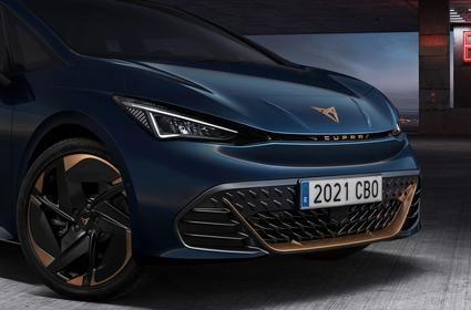 CUPRA Born, el primer coche 100% eléctrico de la marca.