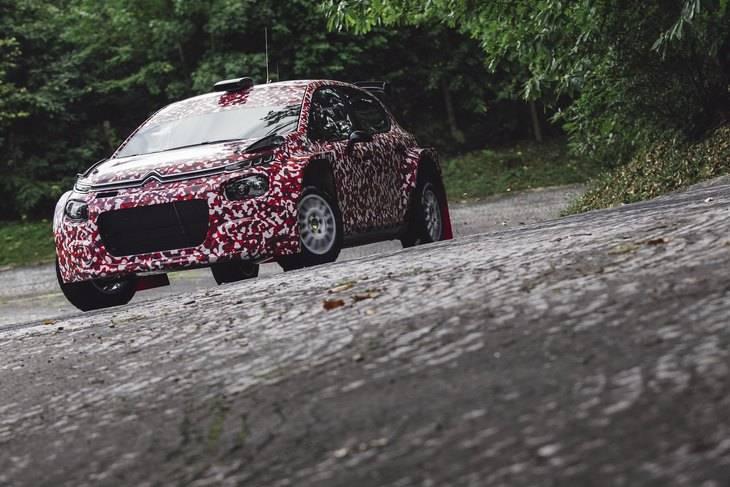Citroen C3 R5 para 2018 en el WRC2