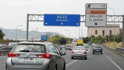 Fuera coches en las Baleares