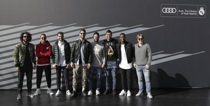 Los coches de los jugadores del Real Madrid CF para la temporada 2018-2019
