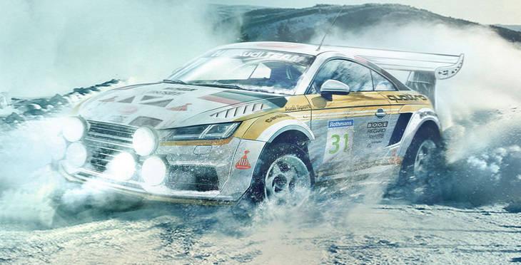 ¿Te imaginas como serían para el WRC?