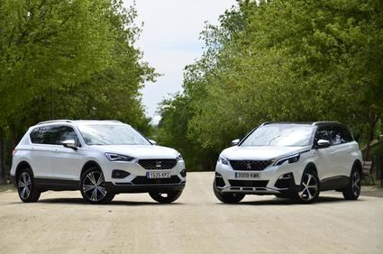 Comparamos el Seat Tarraco y el Peugeot 5008