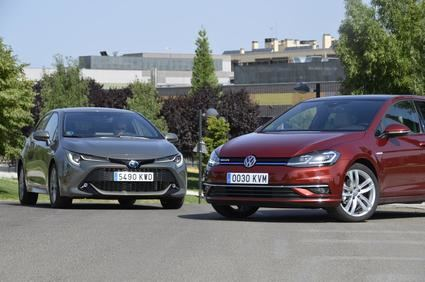 VW Golf TSI vs Toyota Corolla dos compactos muy diferentes