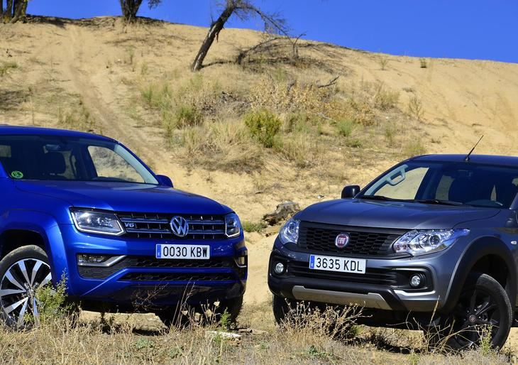 Fiat Fullback Cross vs VW Amarok