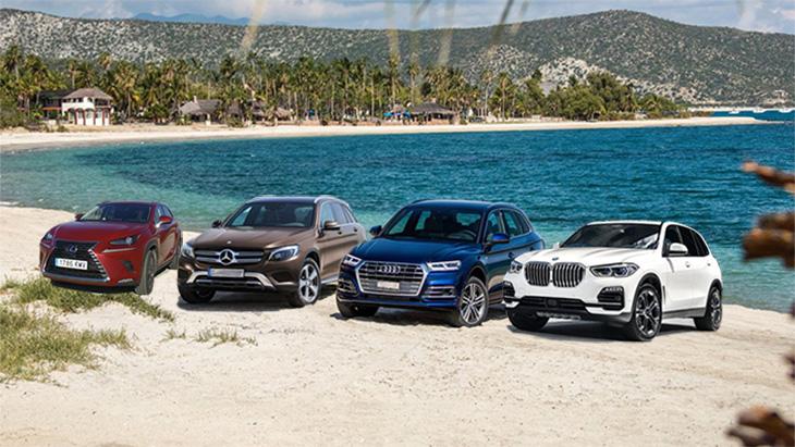 Prueba comparativa: Lexus NX 300H Vs Mercedes GLC, Audi Q5 y BMW X5