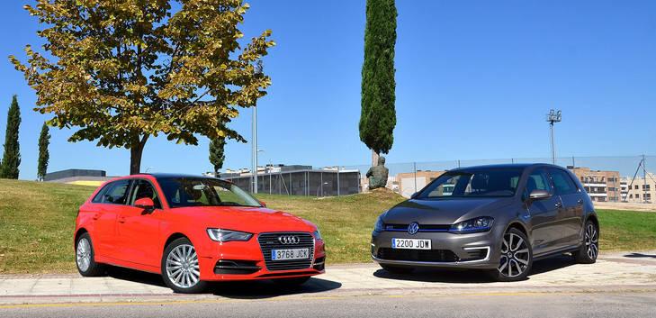 Audi A3 e-tron vs Volkswagen Golf GTE