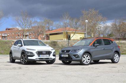 Enfrentamos al Seat Arona contra el Hyundai Kona y el Kia Stonic