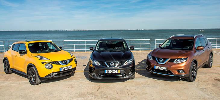 Gama Nissan Crossover al completo