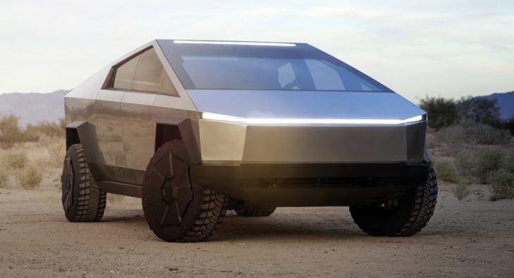 La UAZ rusa replica al Tesla Cybertruck
