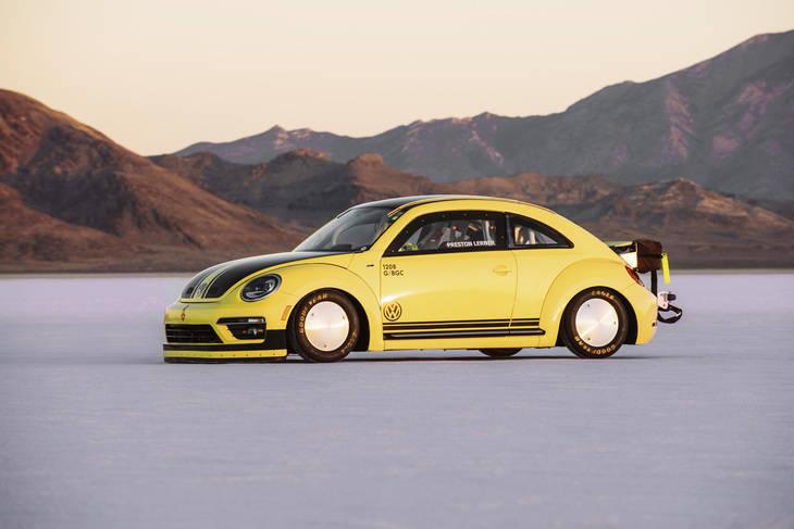 El New Beetle más rapido del mundo: ¡328 kms./hora!