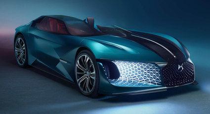Cuatro concept cars de DS