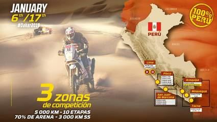 Dakar 2019: 15 días de arena, dunas y desierto