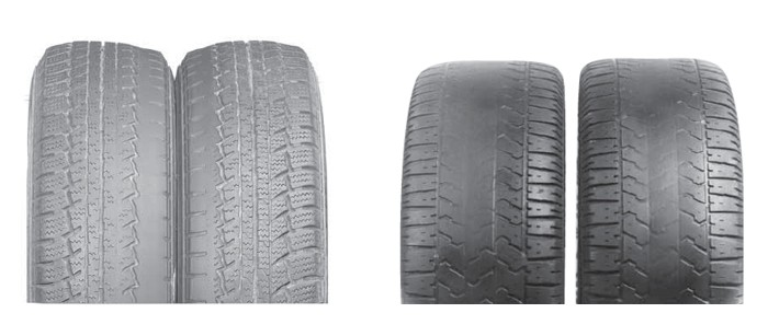Los peligros de usar neumáticos usados