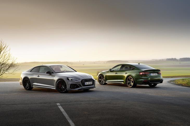 Nuevos Audi RS 5 Coupé y RS 5 Sportback con el diseño RS de sus hermanos mayores