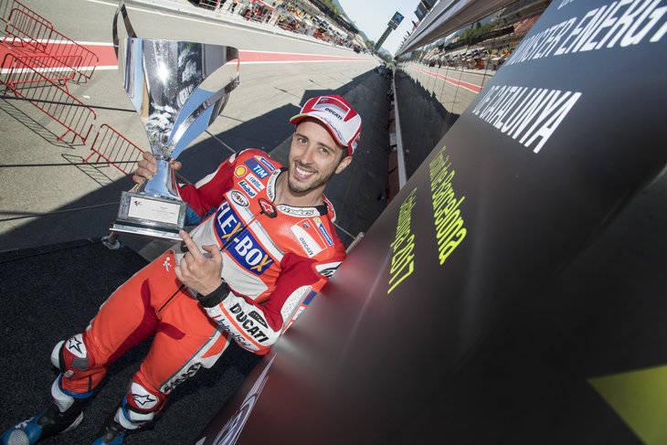 Victoria de Dovizioso en MotoGP