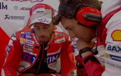 Dovizioso sobre la nueva Ducati GP14.2