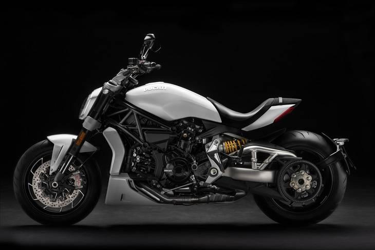 Ducati se prepara para el comienzo de la Faaker See con la nueva XDiavel