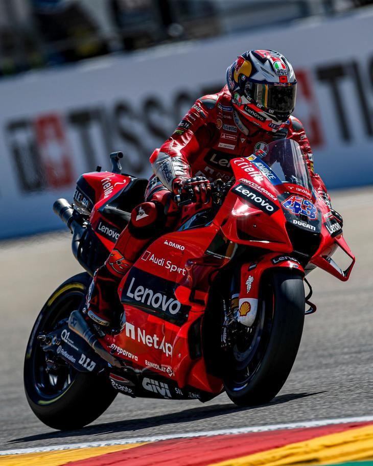 Jack Miller lidera la jornada inaugural del Gran Premio de Aragón