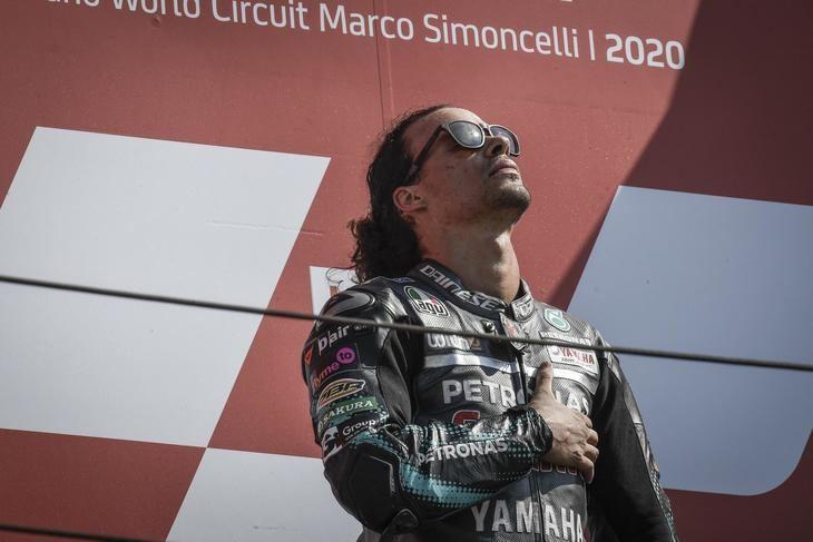 Morbidelli logra su primera victoria en el Gran Premio de San Marino