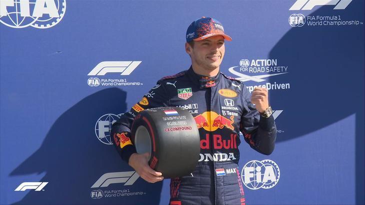 Verstappen consigue la pole en casa