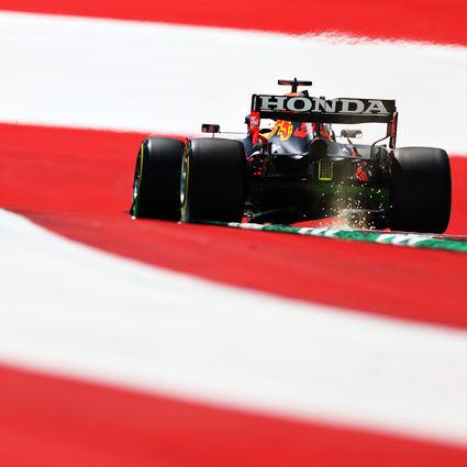 Verstappen el más rápido en el primer día del Gran Premio de Estiria