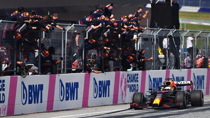 Verstappen consigue la segunda victoria consecutiva en el Red Bull Ring