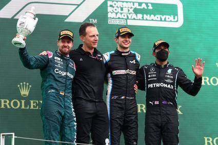 Ocon logra la victoria del Gran Premio de Hungría.
