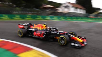 Max Verstappen marca la pauta la primera jornada del GP de Bélgica.