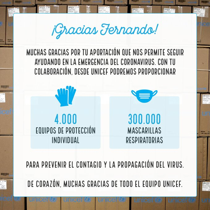 Fernando Alonso dona 4.000 equipos de protección y 300.000 mascarillas
