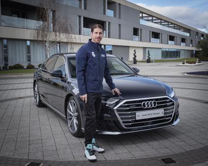 Audi entrega sus nuevos coches a los jugadores del Real Madrid C.F.