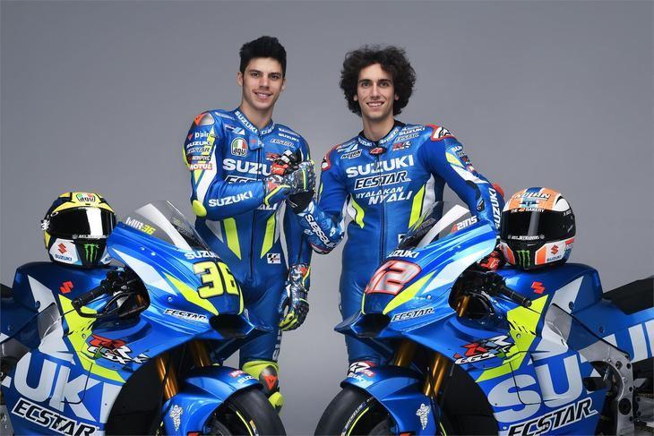 Joan Mir y Alex Rins en el equipo Suzuki