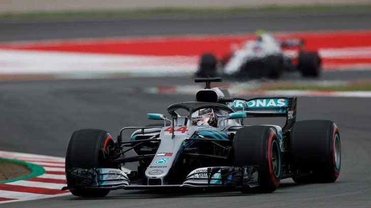 GP de España: Hamilton pole estratosférica