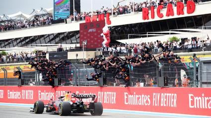 Verstappen se hace con el triunfo del Gran Premio de Francia.