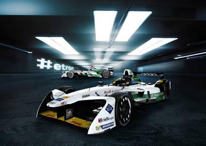 Audi E-Tron nuevo monoplaza para la Fórmula E
