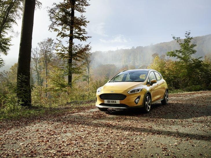 Ford Fiesta Active inspirado en los SUV
