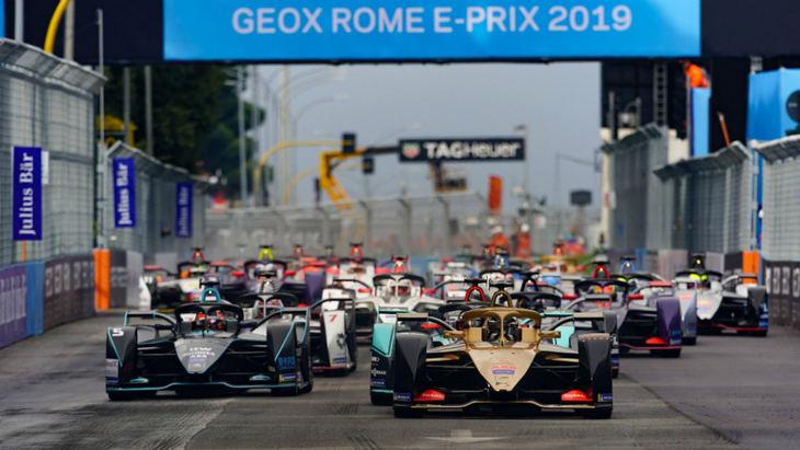 Fórmula E: D´Ambrosio aprovecha un tremendo error de los BMW
