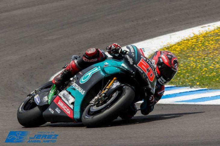 Fabio Quartararo destroza el tiempo que le valió la pole en MotoGP