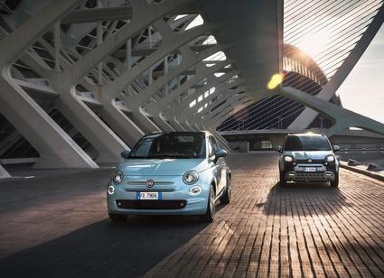 Fiat 500 y Fiat Panda Hybrid con tecnología Mild Hybrid de gasolina