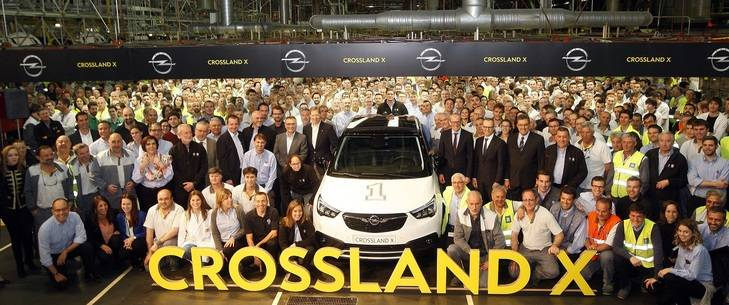 Opel inicia la producción del Crossland X