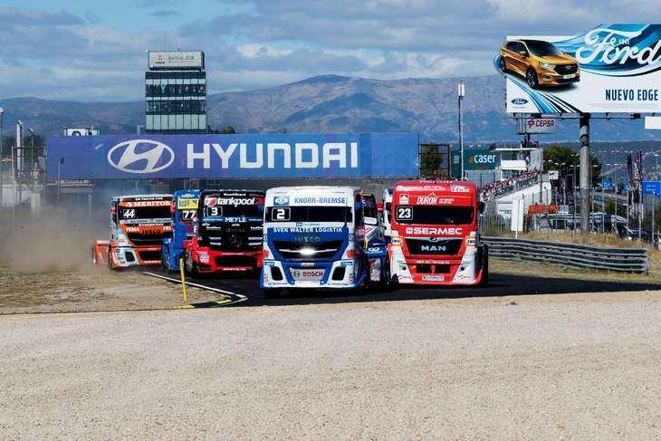 Vuelven las carreras de camiones al Circuito del Jarama