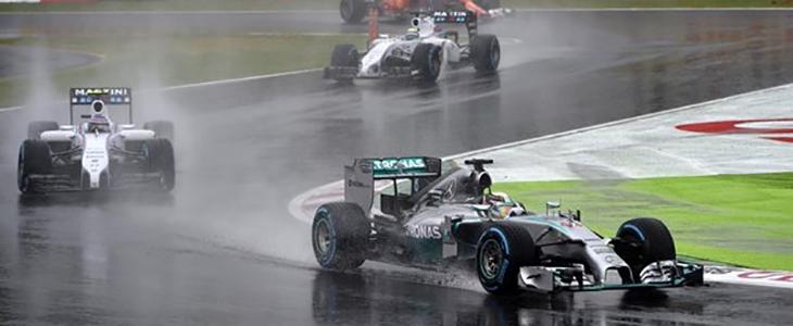 Victoria de Hamilton; Alonso, falló su Ferrari