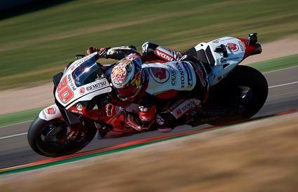 Nakagami marca el ritmo el primer día en el Gran Premio de Teruel