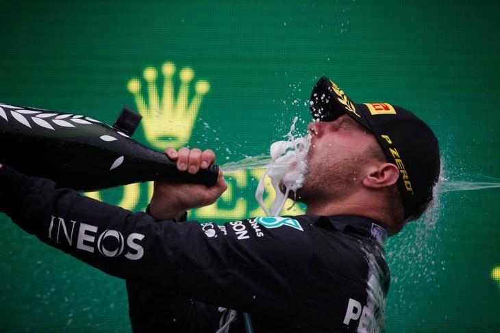 Bottas consigue su primera victoria de la temporada en GP de Turquía